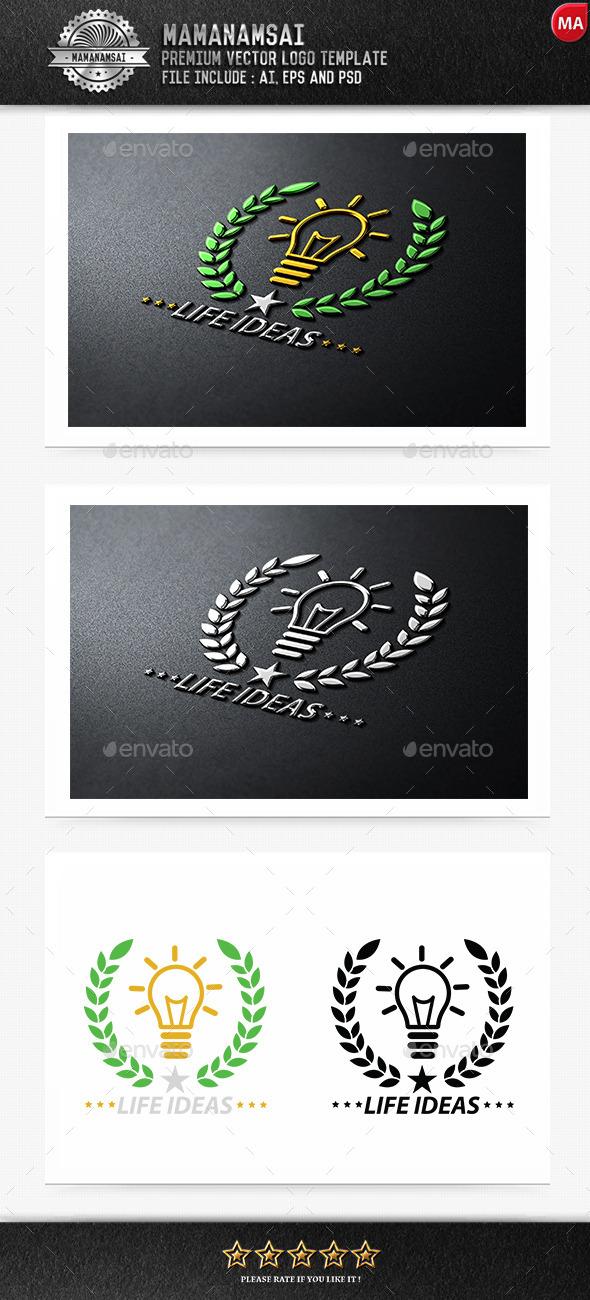 Life Idea Logo - Logo Templates