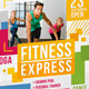 Fitness Club Flyer Template - GraphicRiver Item for Sale