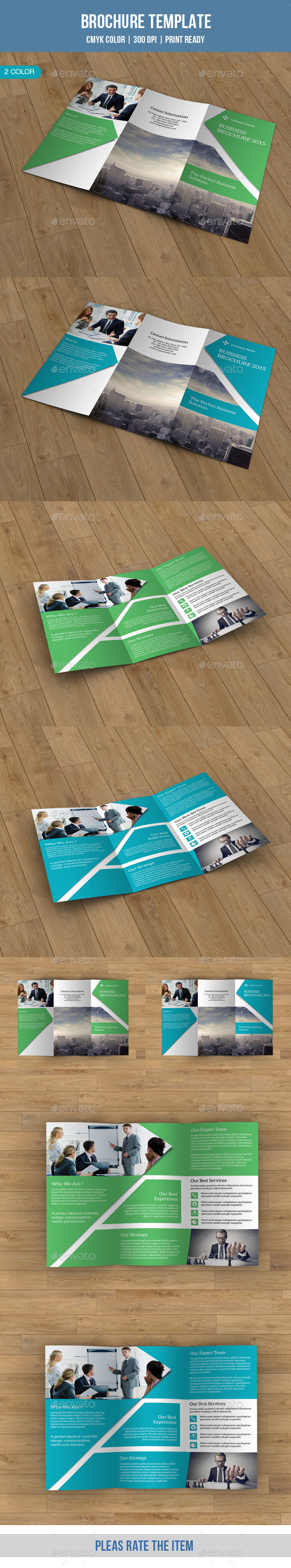 Trifold Brochure for Business-V80 - Corporate Brochures