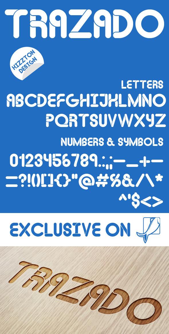 Trazado Premium Font - Fonts