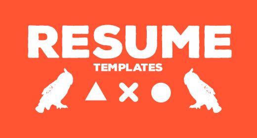 Resume Templates by FlatlineRo