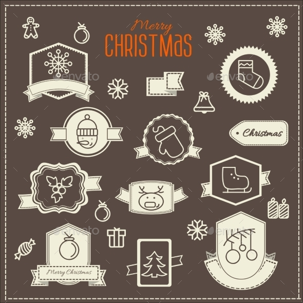 Christmas Decoration Vector Design Elements  - Christmas Seasons/Holidays