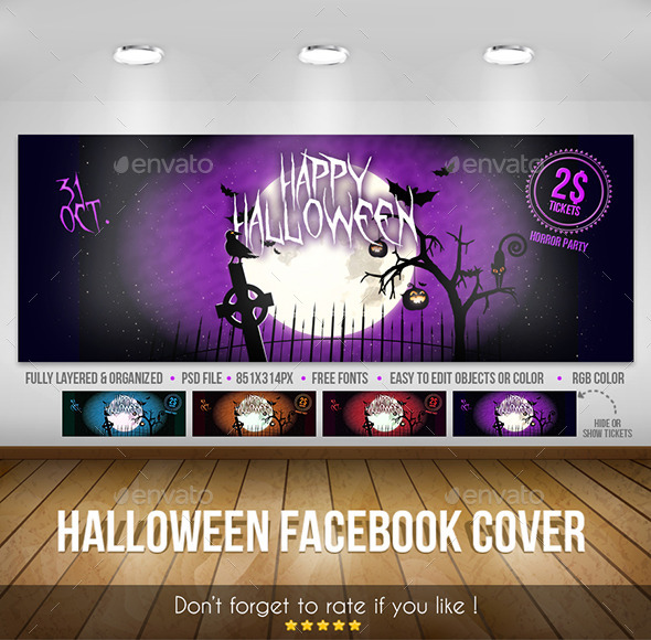 Halloween – Facebook Cover - Facebook Timeline Covers Social Media