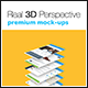 4 Real 3D Perspective Mock-Ups Phone 6 Edition (III) - GraphicRiver Item for Sale