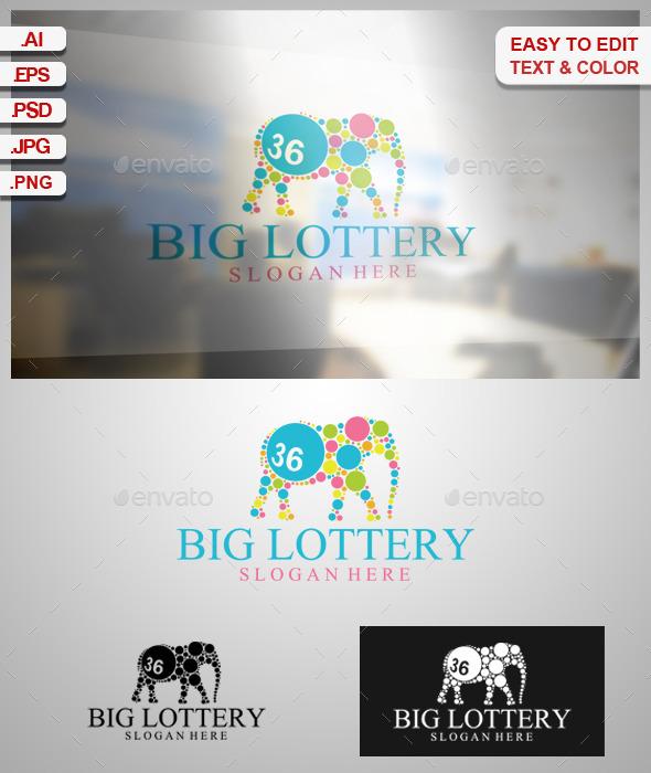 Big Lottery - Animals Logo Templates