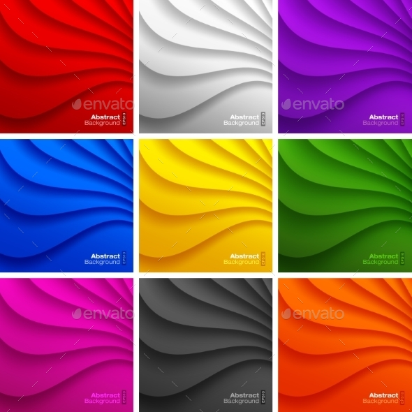 Wavy Backgrounds - Miscellaneous Conceptual