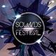 Futuristic Sound Festival Flyer Template  - GraphicRiver Item for Sale