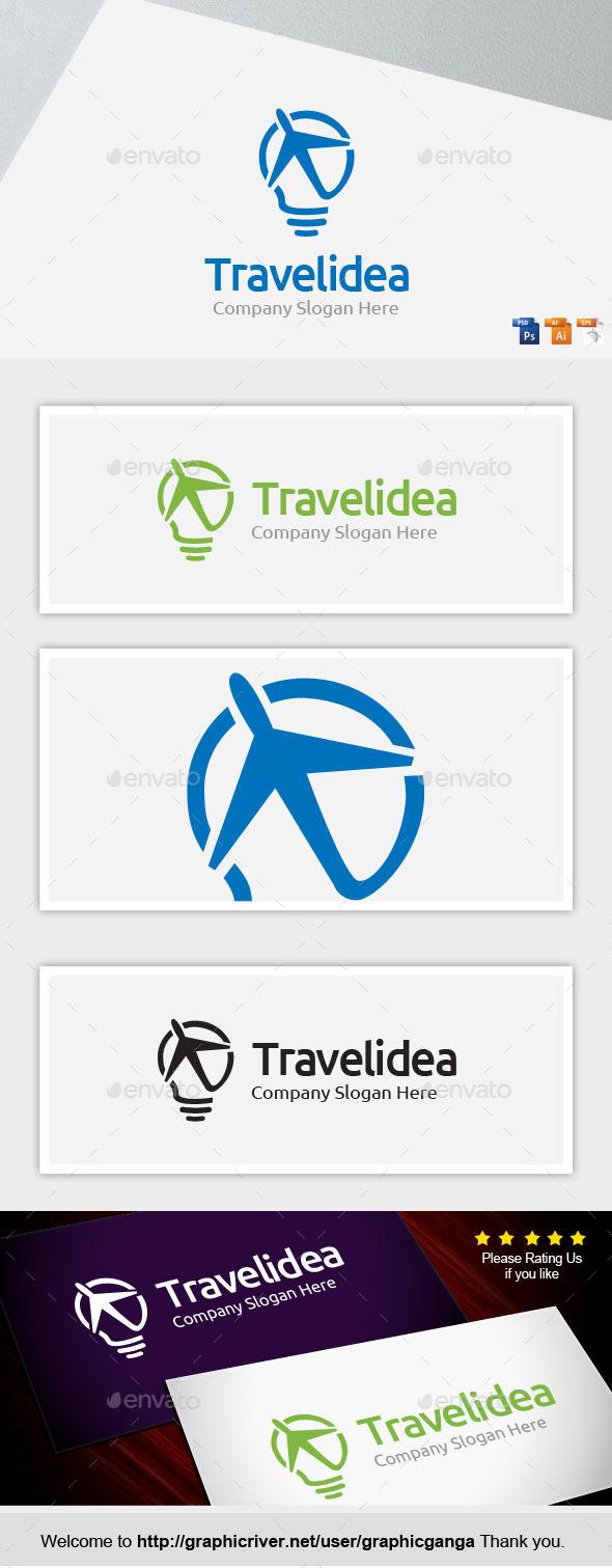 Travelidea - Abstract Logo Templates