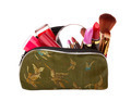 bag with cosmetics