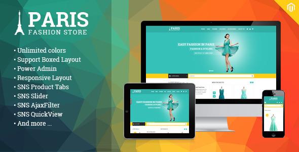 SNS Paris - Premium Responsive Magento Theme - Fashion Magento