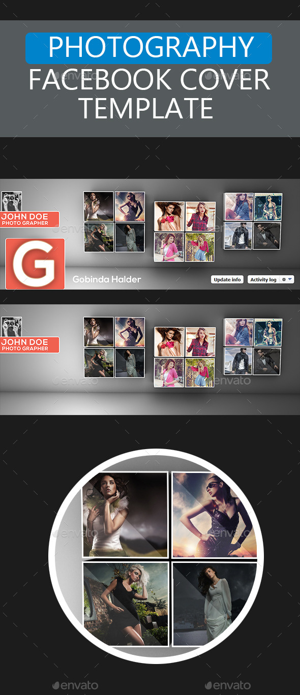 Photography Facebook Cover Template - Facebook Timeline Covers Social Media