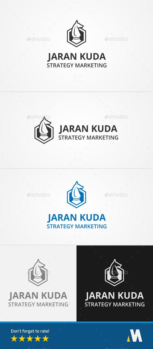 Strategy Marketing - Symbols Logo Templates