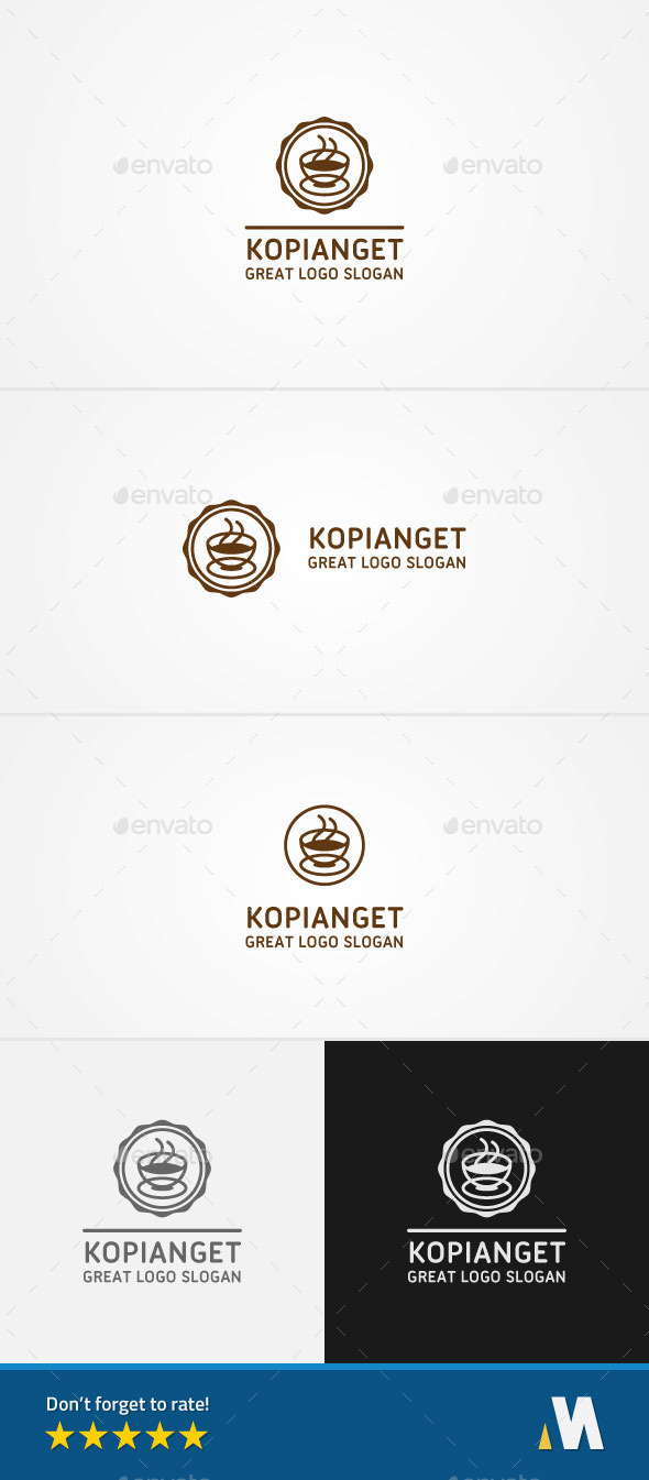 Coffee Morning Cafe / Restaurant - Symbols Logo Templates