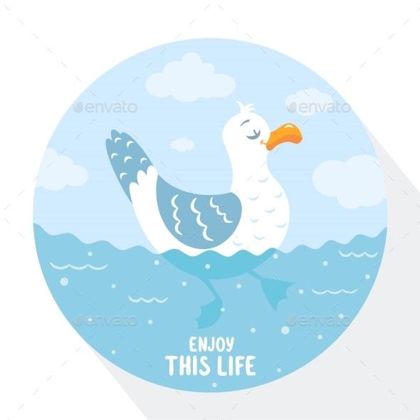 Gull  - Animals Characters