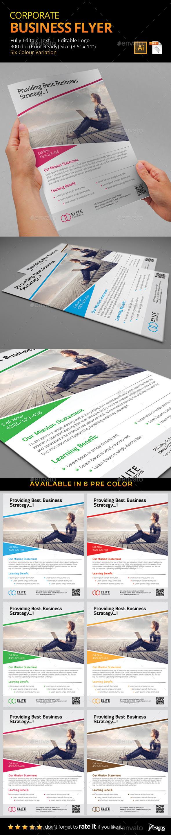 Flyer - Multipurpose Business Flyer 6 - Flyers Print Templates