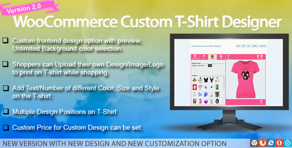 WooCommerce Custom T-Shirt Designer by wpproducts | CodeCanyon