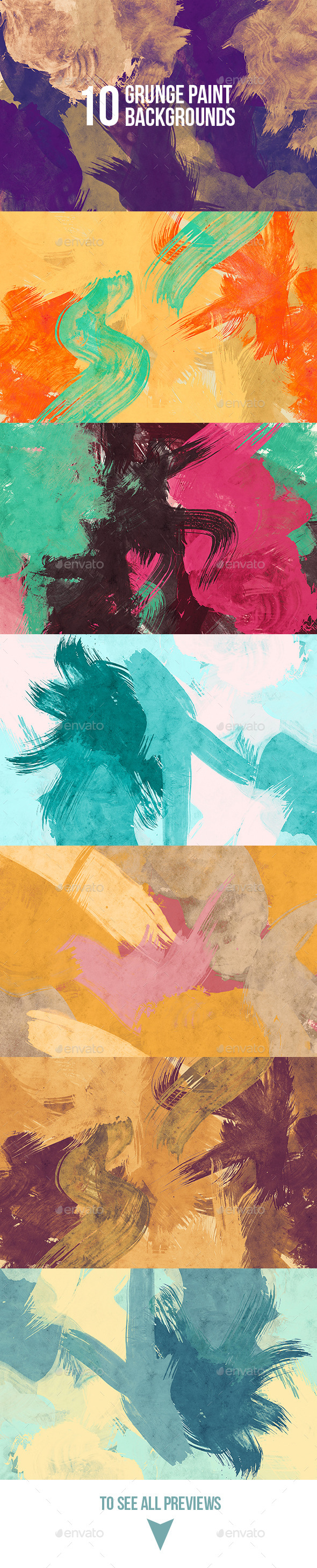 Grunge Paint Backgrounds - Abstract Backgrounds