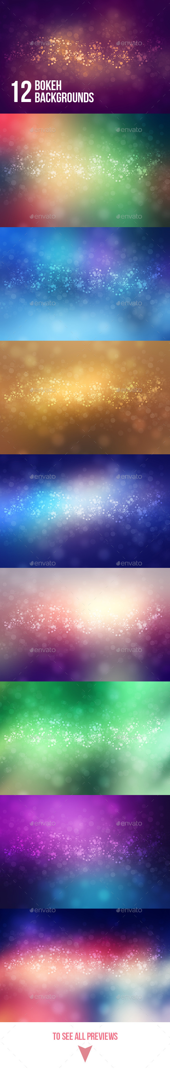 Abstract Bokeh Backgrounds - Abstract Backgrounds