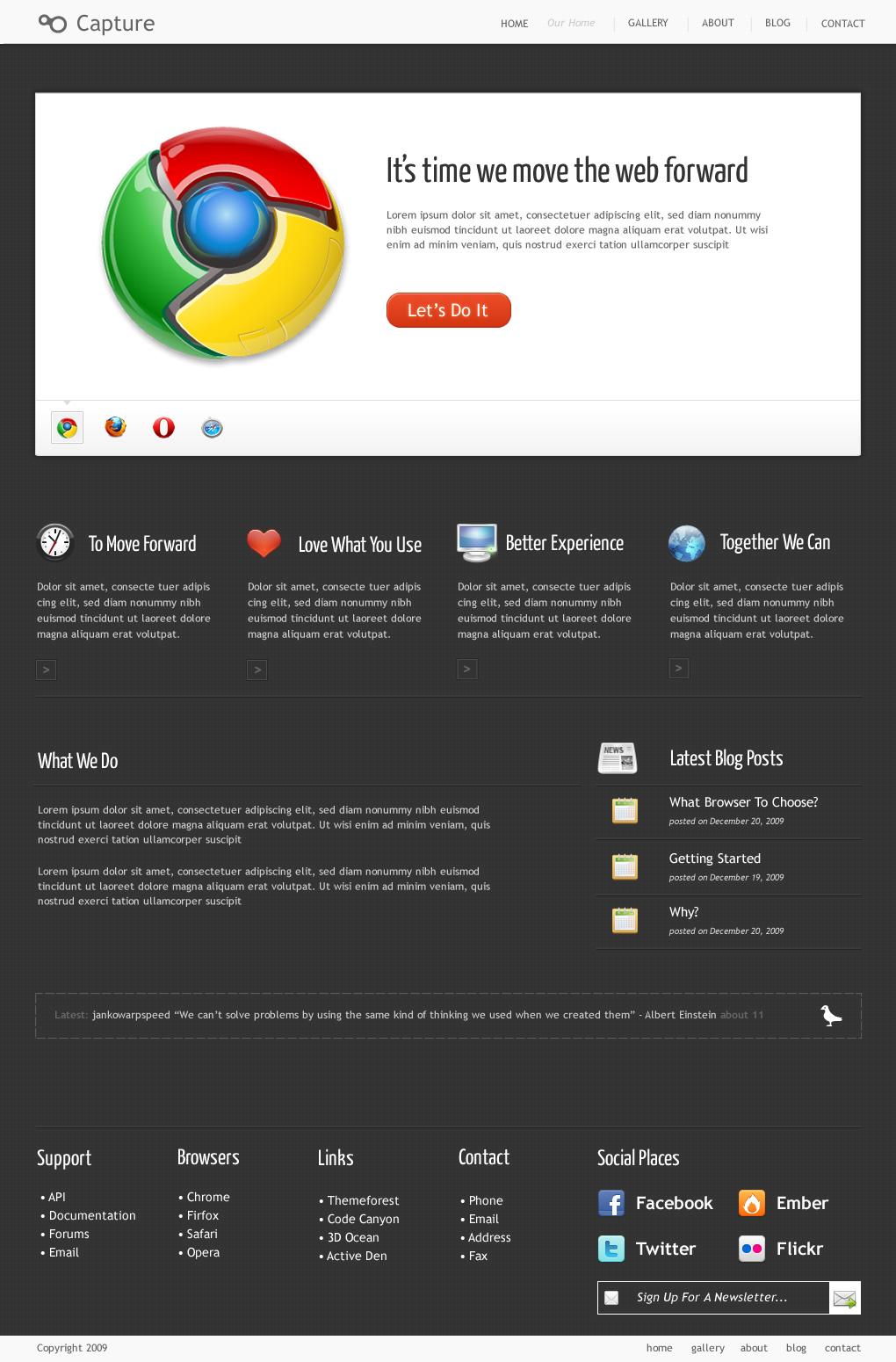 Capture - Professional Wordpress Theme by DigitalHenry | ThemeForest