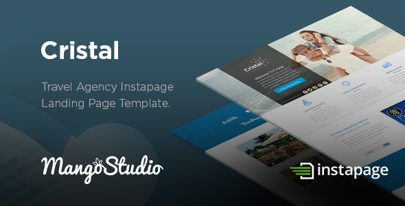 Cristal - Travel Agency Instapage Template - Instapage Marketing