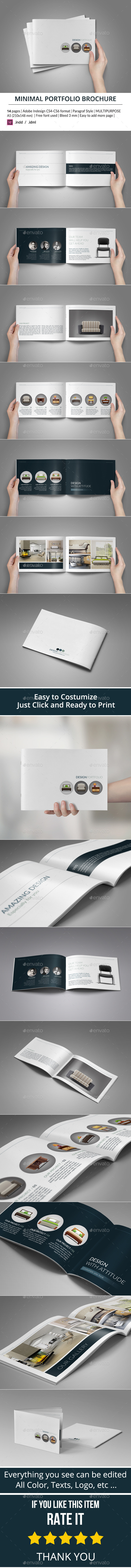 Minimal Portfolio Brochure - Catalogs Brochures
