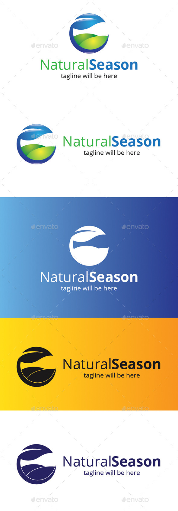 Natural Season - Nature Logo Templates