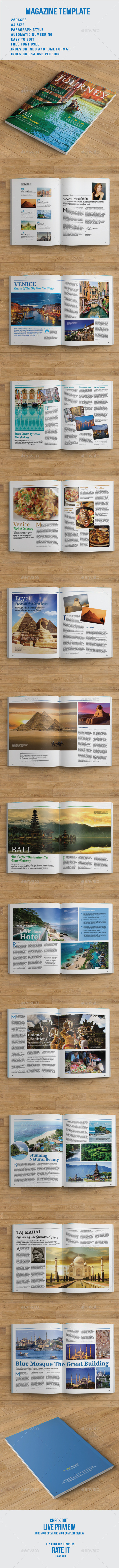 Journey Magazine - Magazines Print Templates