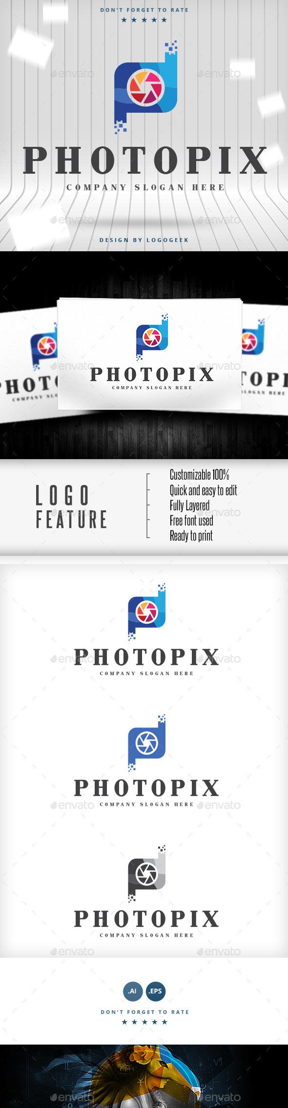 Photopix Logo - Logo Templates