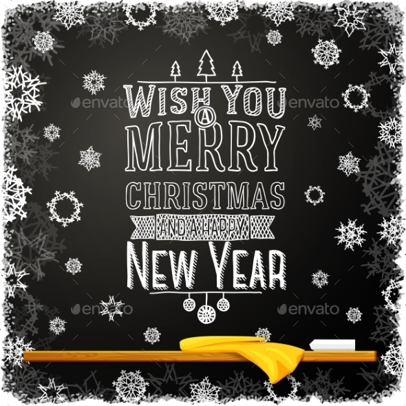 Wish You a Merry Christmas and Happy New Year - Christmas Seasons/Holidays