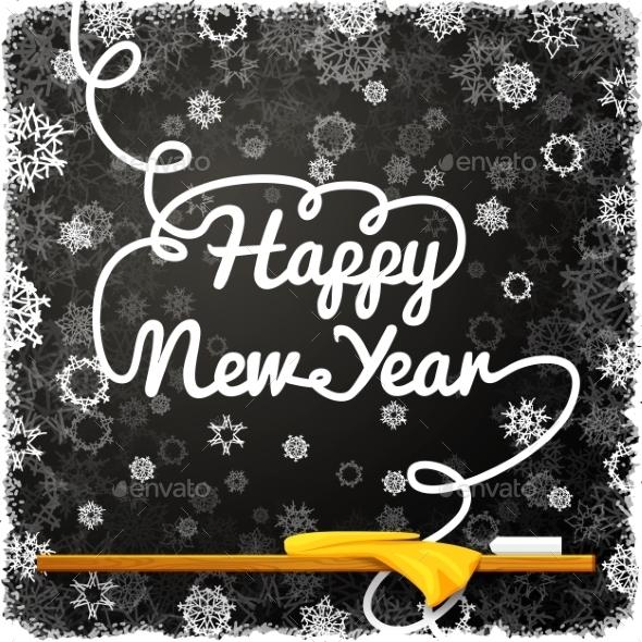 Happy New Year Message - Christmas Seasons/Holidays