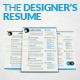 The Designer's Resume - GraphicRiver Item for Sale