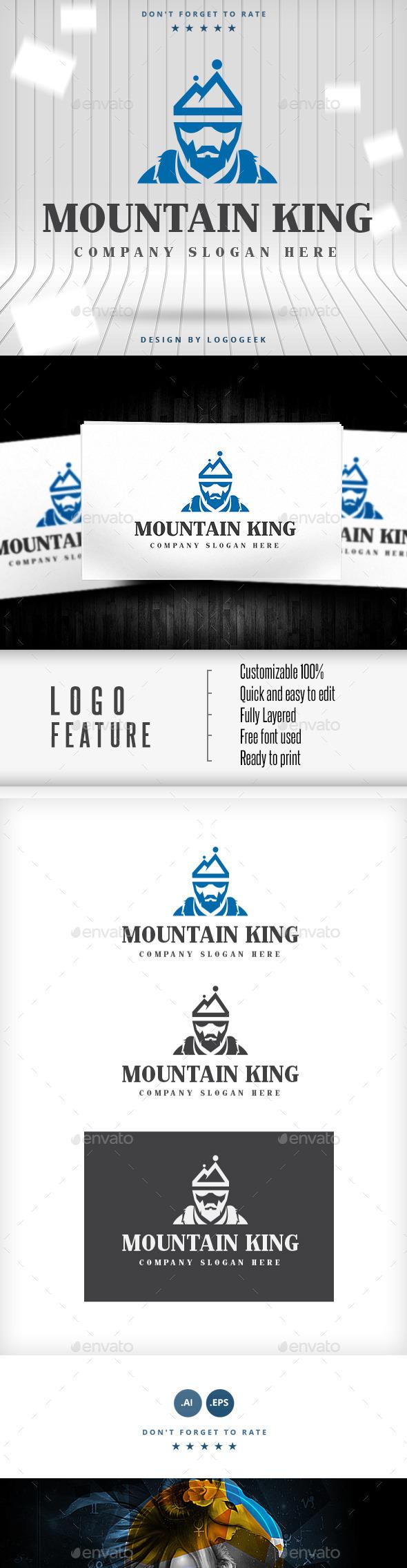 Mountain King Logo - Logo Templates