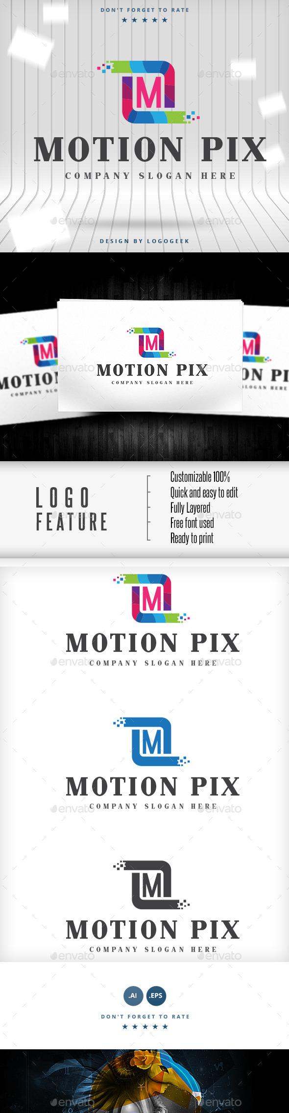 M Letter Logo - Logo Templates