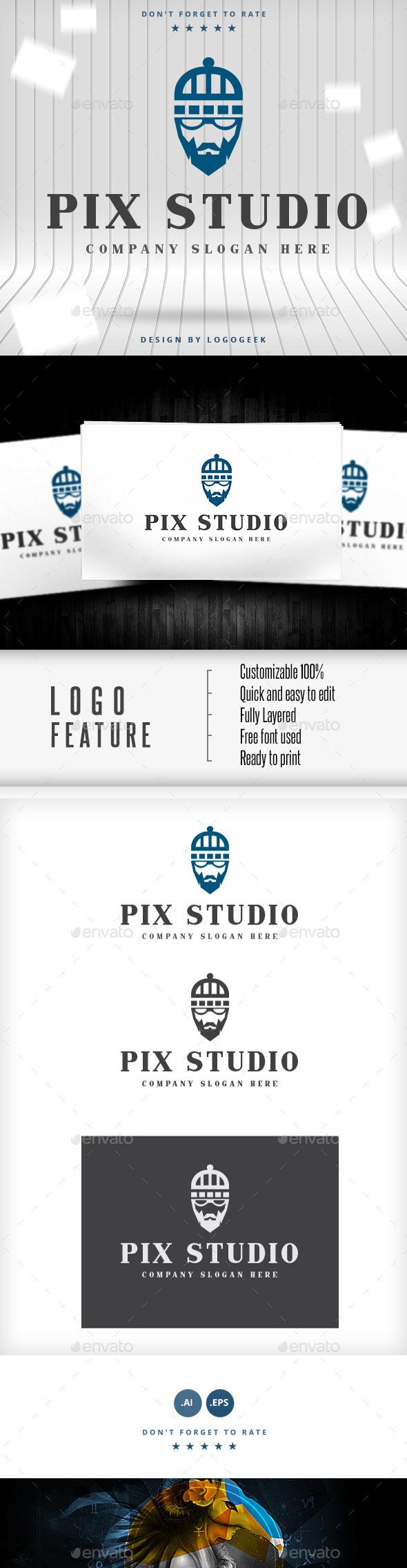 Old Geek Logo - Logo Templates