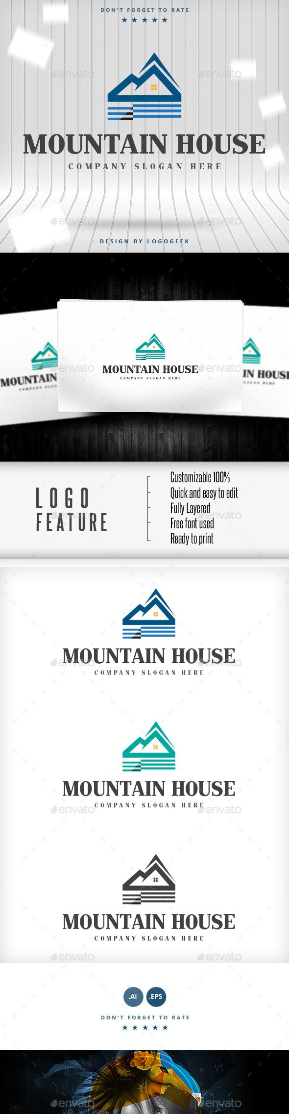Mountain House Logo - Logo Templates