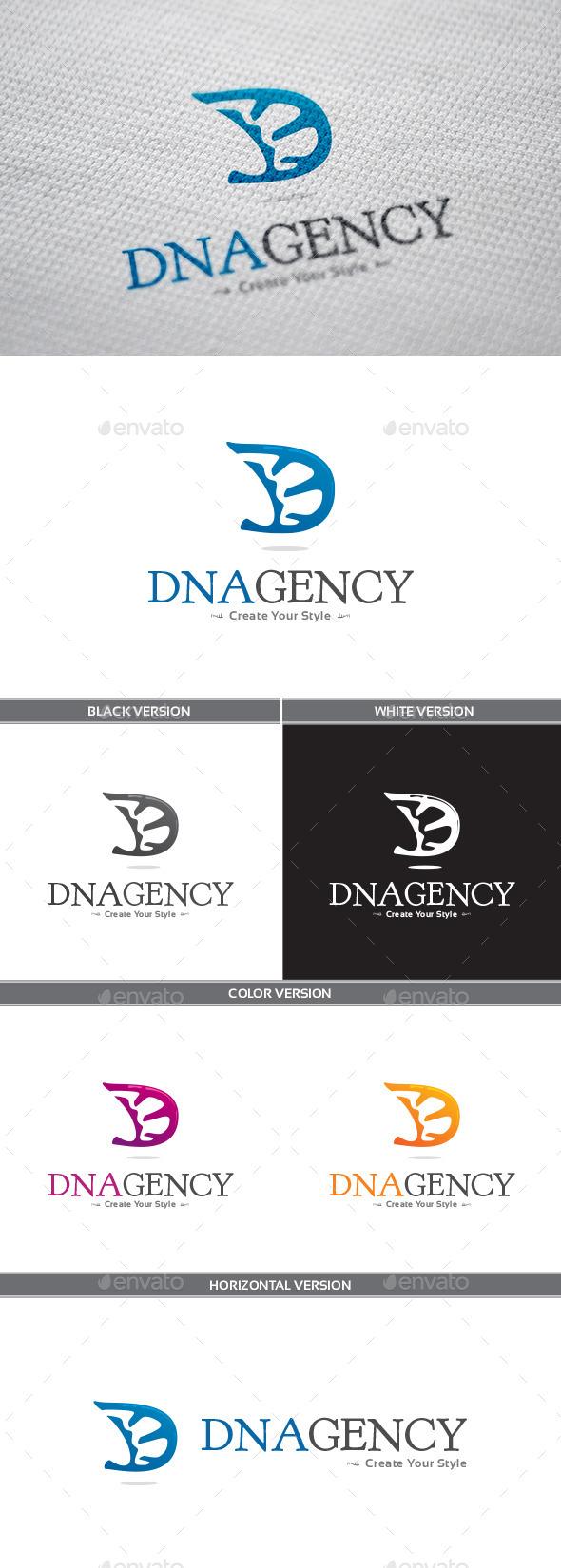 DNAgency Logo - Letters Logo Templates