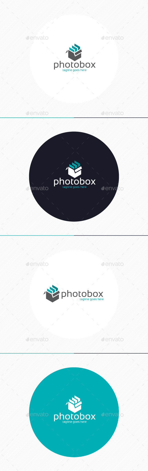 Photo Box Logo - Objects Logo Templates
