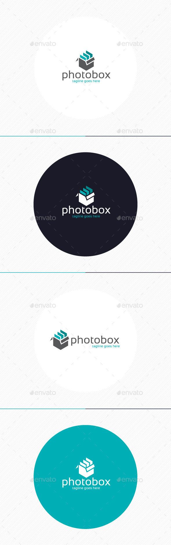 Photo Box Logo - Objects Logo Templates