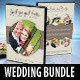 6 in 1 Wedding DVD Cover & Disc Label Bundle