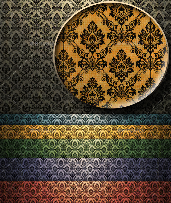 Colorful Vintage Wallpaper - Patterns Backgrounds