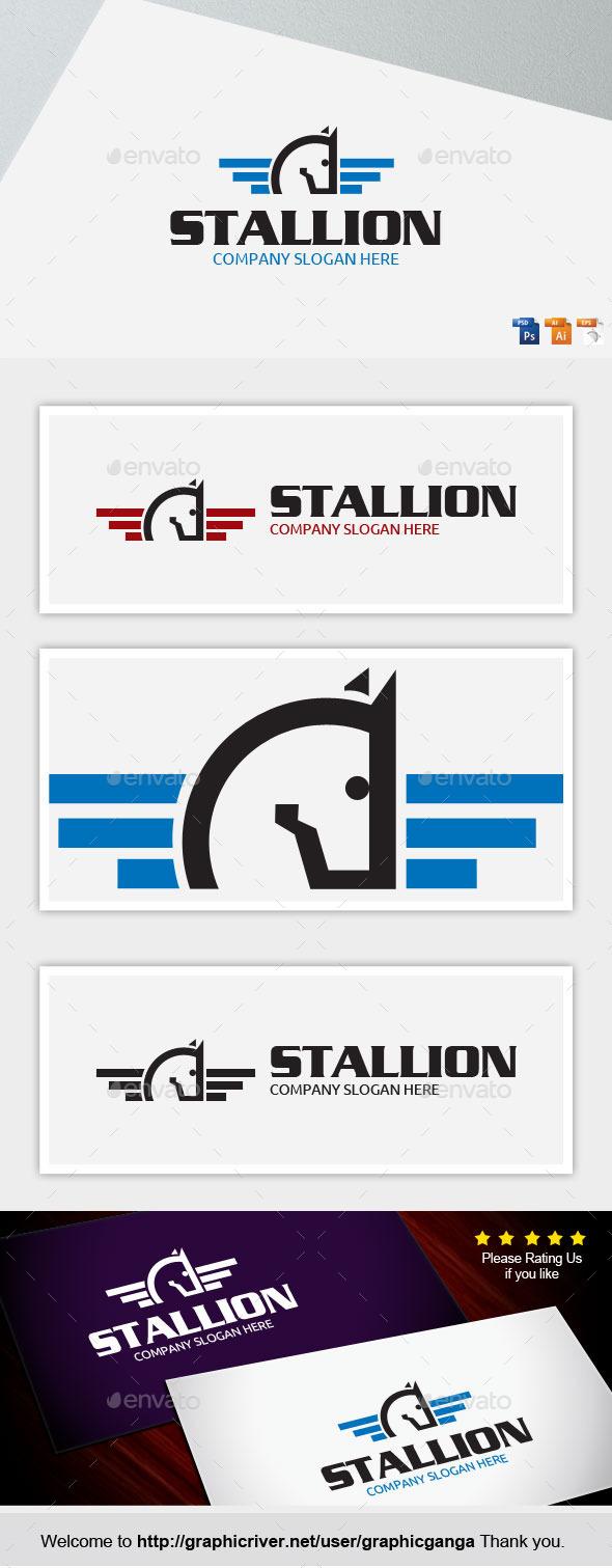 Stallion - Animals Logo Templates