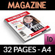 Business Spirit Newsletter Magazine - 32 Pages - GraphicRiver Item for Sale