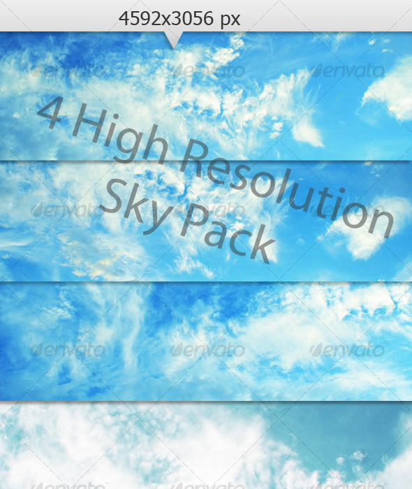 Cloud Pack - Nature Textures