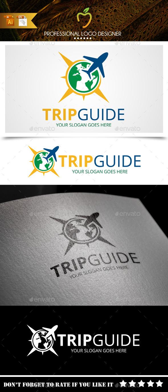 Trip Guide Logo - Symbols Logo Templates