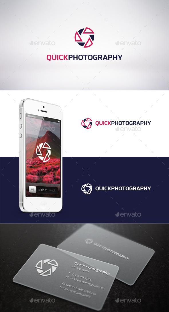 Quick Photography Logo Template - Symbols Logo Templates