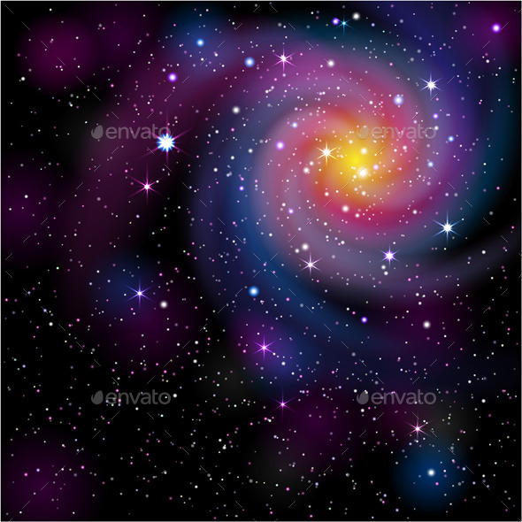 Galaxy Background - Nature Conceptual