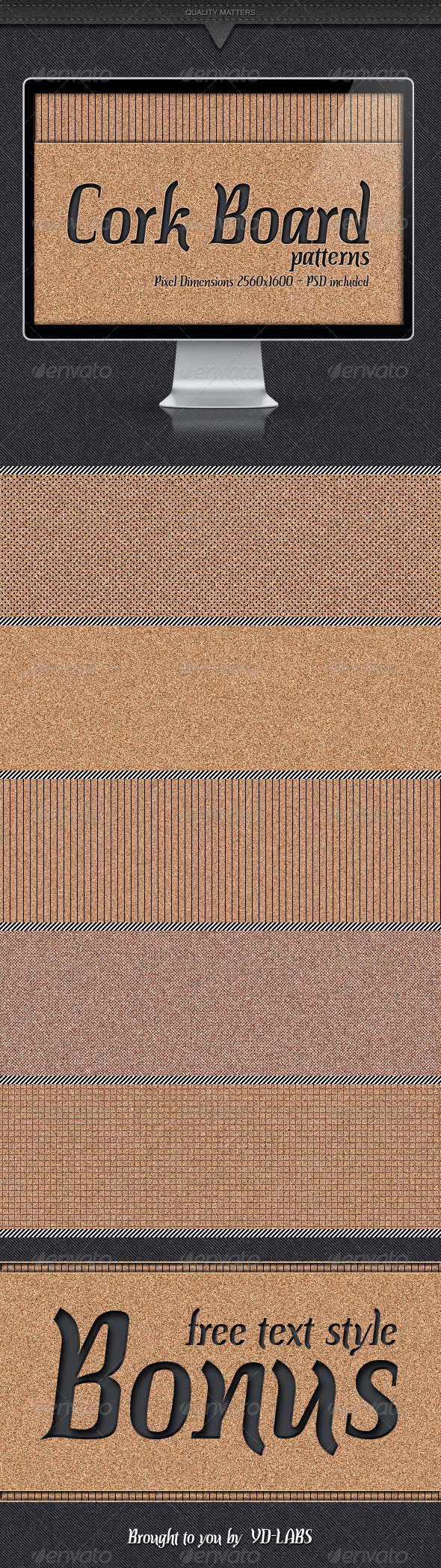 Cork Board Patterns - Patterns Backgrounds