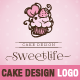 Sweetlife - Cup Cake Design Illustration Logo Template - GraphicRiver Item for Sale