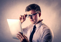 Young businessman using a tablet - PhotoDune Item for Sale