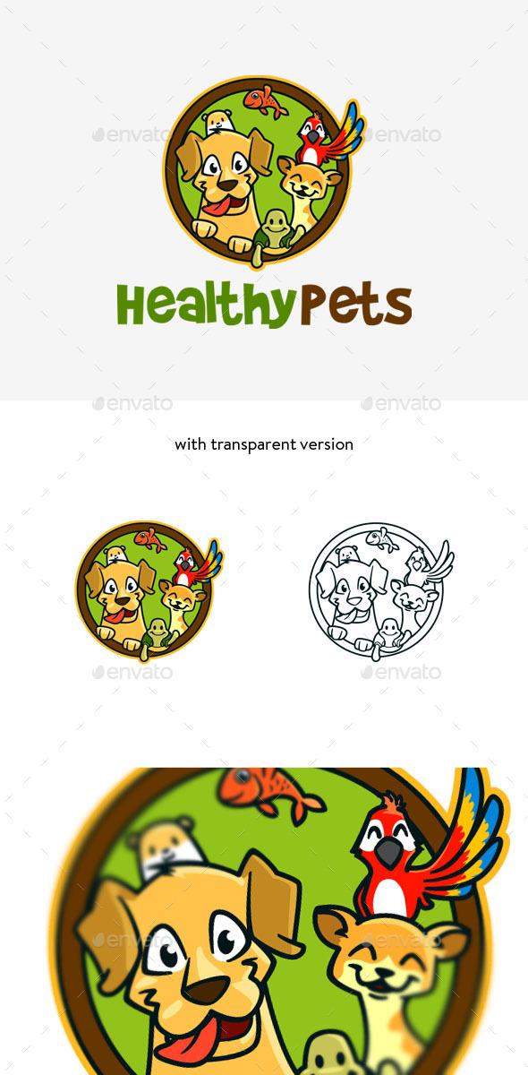 Pet Veterinary Logo - Animals Logo Templates